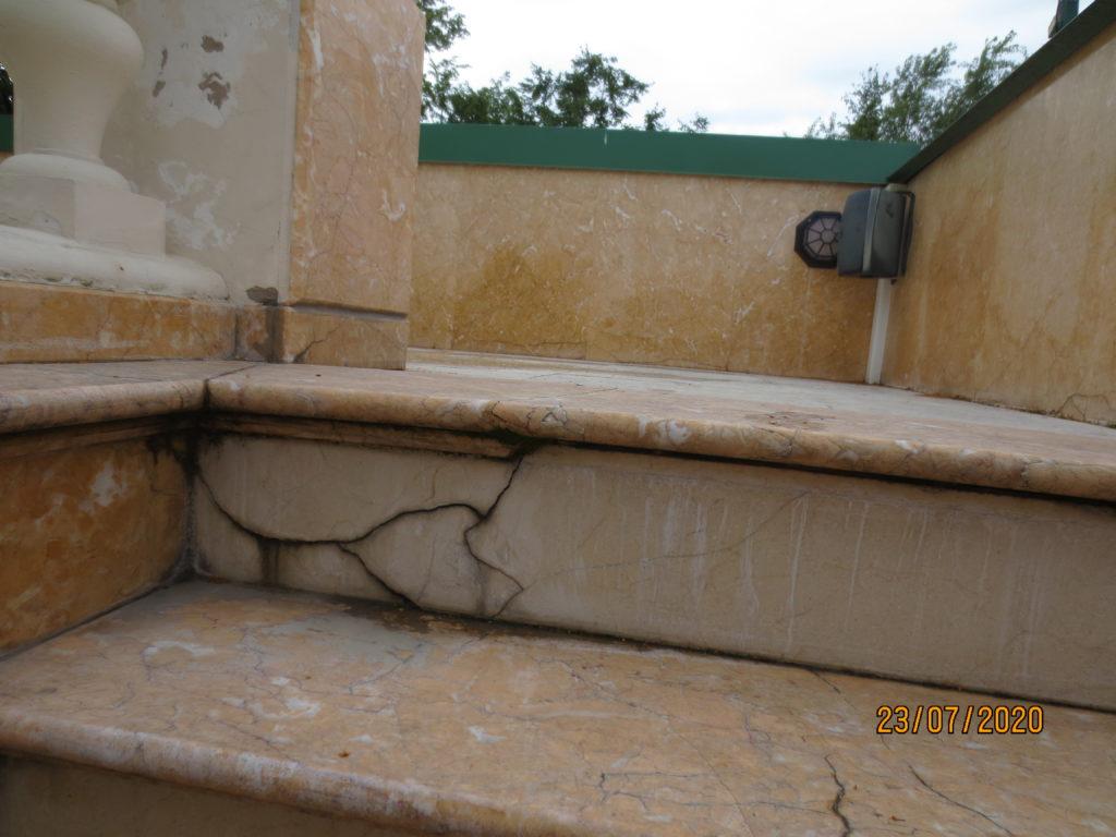Ремонт каменных лестниц